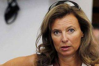 Valérie Trierweiler, la pareja 'corneada' de Hollande, hospitalizada en París