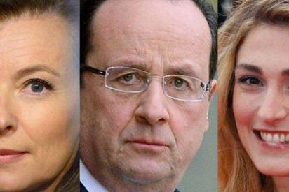 La prensa catalana, que suele exigir respeto a la de Madrid, se regodea en Hollande y sus mujeres