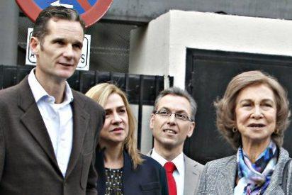 La imputación de la Infanta Cristina pasa factura a la Reina Sofía