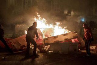 Batalla campal en Burgos en una protesta vecinal por la reforma de una calle