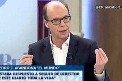 """Jaime González sobre el despido de Pedrojota: """"Cuando yo entro en ABC sé cuáles son las coordenadas del periódico, no puedo coger un trabuco y apuntar al presidente del Gobierno"""""""