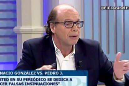 """Jaime González (ABC) azota a Pedrojota: """"Ha sido un exceso de 'El Mundo' porque pone a Ignacio González hasta las trancas en la Gürtel"""""""