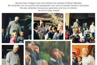 El profesor de los nietos de Mandela