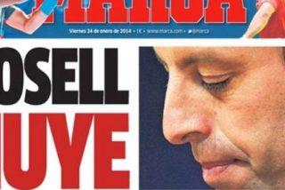 Marca se acuerda del caso Neymar el día que Rosell entrega su cabeza