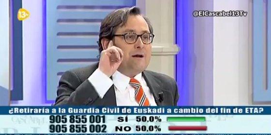 """Marhuenda aconseja al PSOE: """"Si queréis perder, seguid con Don Alfredo, que no ha ganado unas elecciones ni en la Universidad Complutense"""""""