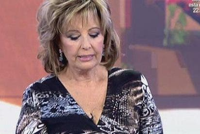 """María Teresa Campos vuelve a amenazar con irse de Sálvame: """"De eso no voy a hablar"""""""