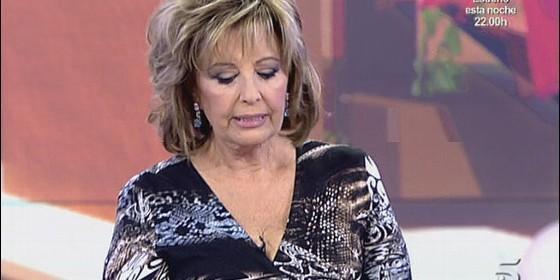 """Mª Teresa Campos, rencorosa con Arturo Fernández: """"Tiene ideas de 'derechona' y me llegó a cabrear"""""""
