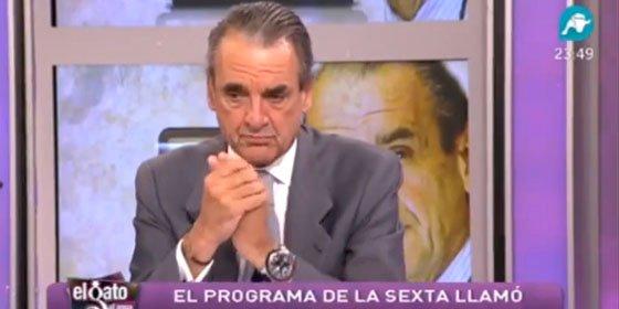 """Mario Conde: """"¿Va a cambiar ahora la línea editorial del periódico y va a defender a Rajoy? A lo mejor sí"""""""