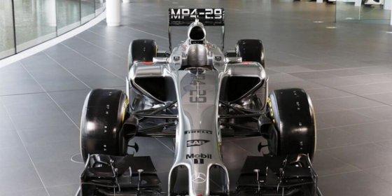 El nuevo McLaren sorprende por su color