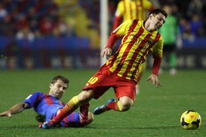 El Barça se deja 2 puntos en el Ciudad de Valencia y tiene al Real Madrid en el cogote