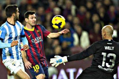 El Barça recupera el liderato de la Liga sin que Messi marque un gol