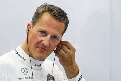 El cerebro de Schumacher estaba dañado desde su accidente en España