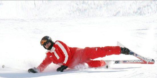 Schumacher llevaba una cámara en el casco