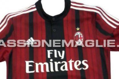Así será la camiseta del Milan para la próxima temporada