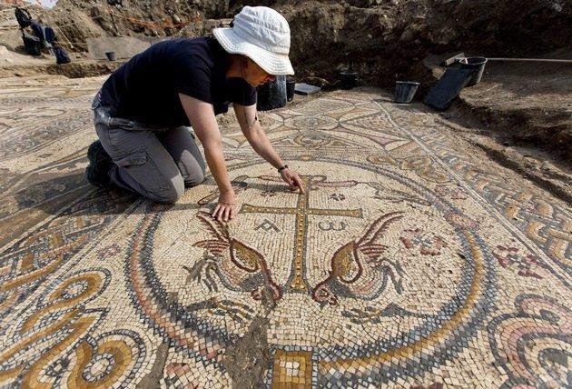 Descubierta una importante iglesia bizantina en Israel