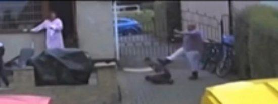 [Vídeo] Una familia de perturbados esclaviza y muele a palos a un pobre deficiente mental