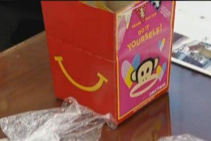 La empleada de McDonalds te daba papelinas de heroína en vez de hamburguesas o patatas