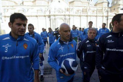 El Zaragoza prohibe entrenar a Movilla