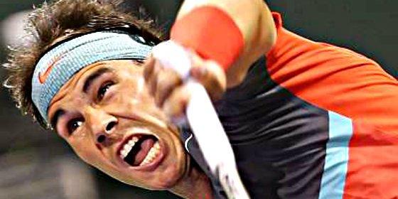 Nadal sufre, lucha y se impone a Gulbis para meterse en semifinales de Doha