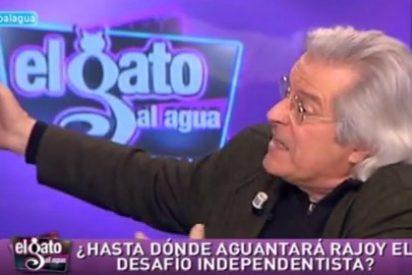 """Javier Nart: """"A ver si los ilustres personajes que chupan mamandurria en La Moncloa se despiertan de su letargo y se dan cuenta de lo que pasa en Cataluña"""""""