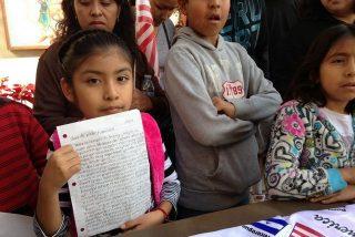 Niños norteamericanos escriben al Papa para evitar que deporten a sus padres