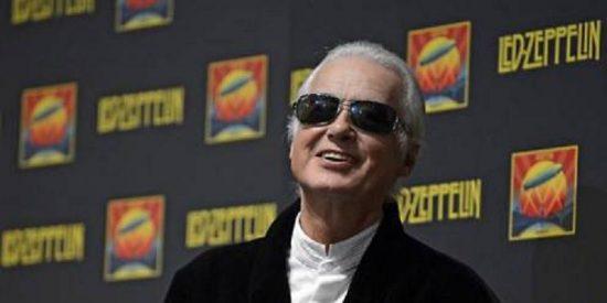 Jimmy Page, el guitarrista de Led Zeppelin, cumple 70 años más fresco que una lechuga