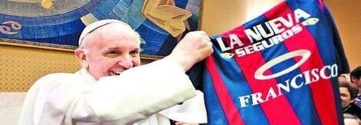 El Papa quiere católicos hinchas de Dios