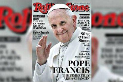 El papa Francisco, portada y protagonista del último número de la revista 'Rolling Stone'