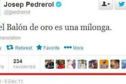 Un tuitero deja 'con el culo al aire' a Pedrerol