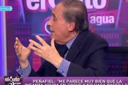 """Jaime Peñafiel: """"Elena es la preferida del Rey y el Príncipe de la reina Sofía, a la pobre Cristina nadie la quiso nunca"""""""