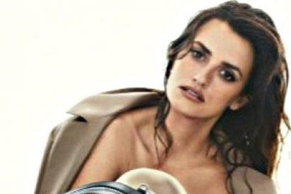 Penélope Cruz se pone en cueros para vender los bolsos de cuero de Loewe