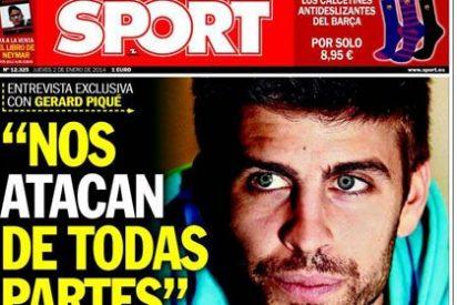 Los 'esfuerzos' de Sport para que Piqué raje de Madrid y la 'caverna': hasta cinco preguntas seguidas sobre las supuestas campañas contra el Barça y Messi