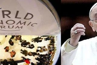 """Francisco, al Foro de Davos: """"Que la riqueza esté al servicio de la humanidad, no para gobernarla"""""""