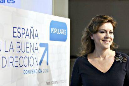 """María Dolores de Cospedal: """"No veo convulsión en el PP; veo problemas de agenda"""""""