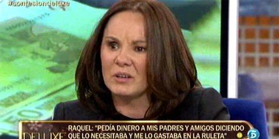 Raquel Morillas (GH3) confiesa que es ludópata y que casi pierde la vida y en el 'Deluxe' no le creen