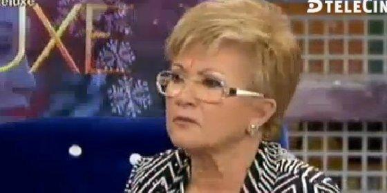 La sacudida a Belén Esteban, la ira de María Patiño y la 'soberbia' de Terelu en el 'Deluxe' de la madre de la Campanario