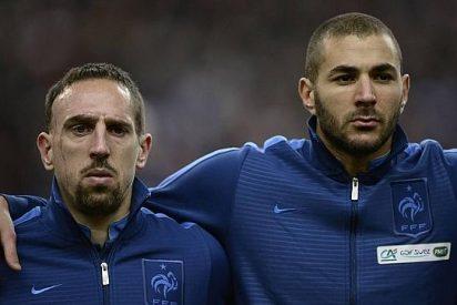 Benzema y Ribéry, absueltos por el caso Zahia, la prostituta menor de edad