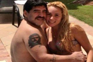La dieta del sexo le 'cuesta' 4 kilos a la novia de Maradona