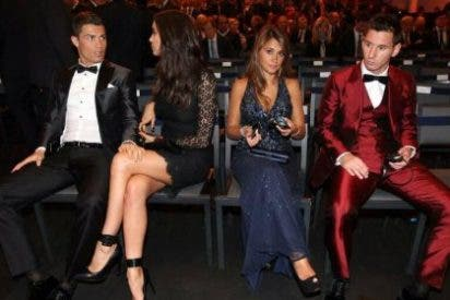 Ronaldo y Messi presumen de sus novias