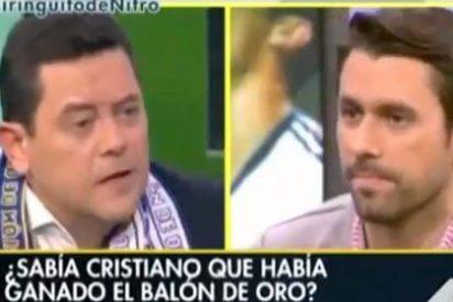 Roberto Morales se lleva un vapuleo público de sus compañeros del 'Chiringuito' por afirmar que CR7 ya sabía que iba a ser el ganador del Balón de Oro