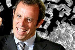 Sandro Rosell pagó 95 millones de euros por Neymar y no los 57 que anunció oficialmente