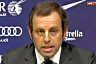 Sandro Rosell tira la toalla como presidente del Barça acogotado por el 'Caso Neymar'