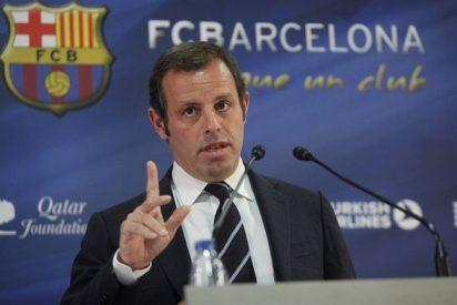 Sandro Rosell planea dejar la presidencia del Barça porque se ve 'empapelado' por el juez