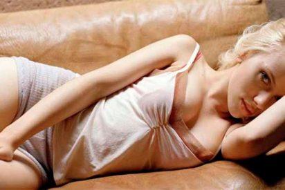 Así era la narizota de Scarlett Johansson antes de operarse