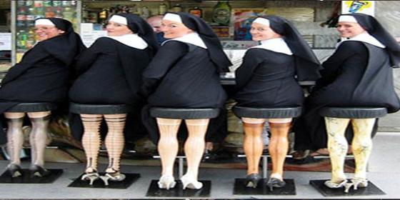 La monja 'despistada' avergüenza a su convento dando a luz sin saber que estaba embarazada