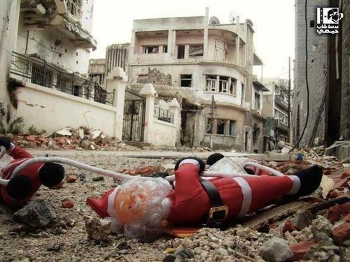 Navidades tristes para los cristianos sirios