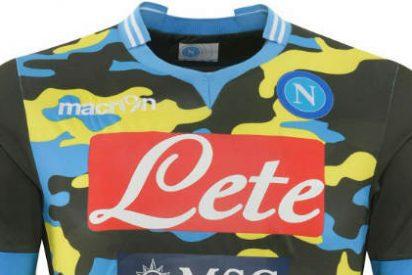 El Nápoles vuelve a revolucionar con su nueva camiseta