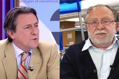 """Aizpeolea insinúa que Gara hace pedagogía con el terrorismo y Tertsch le machaca: """"Elogia en ETA hasta su política de comunicación, es un fan"""""""