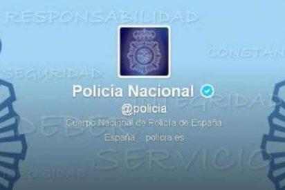 El 'community manager' de la Policía Nacional la pifia en Twitter explicando cómo esconder porros