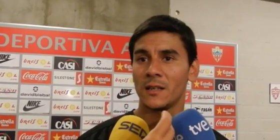 Ustari pide salir del Almería